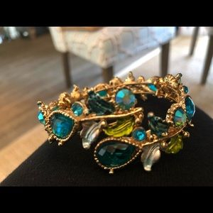 Stunning spring gemstone bracelet